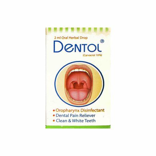 تصویر ضد دندان درد دنتول