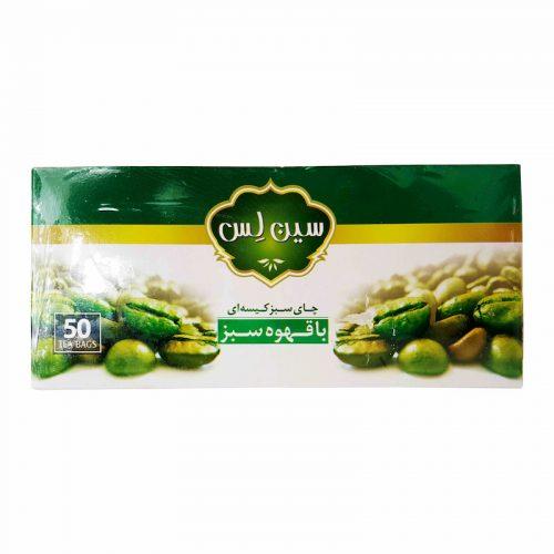 تصویر چای سبز با قهوه سبز سین لس - چای سبز با قهوه سبز سین لس - چای سبز با قهوه سبز - سین لس