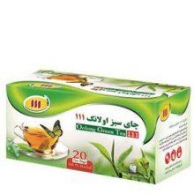 دمنوش چای سبز اولانگ 111