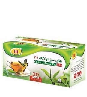 دمنوش چای سبز اولانگ 111 طب سما